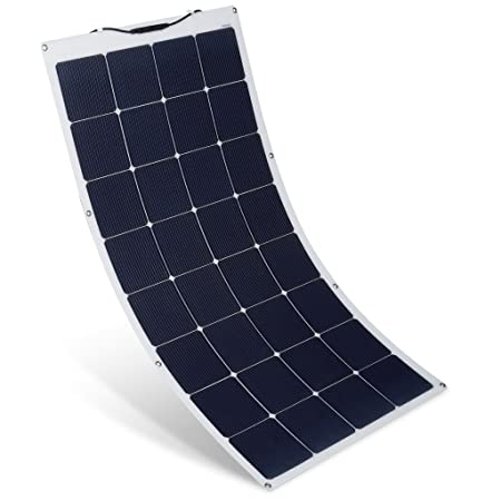 front facing suaoki 150w 18v rv solar panel kit