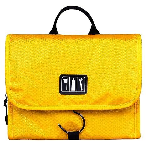 b2bce54fd0d9 BAGSMART Folding Hanging Toiletry Bag Roll up Makeup Organizer Cosmetic Bag  Portable Travel Kit Organizer Household