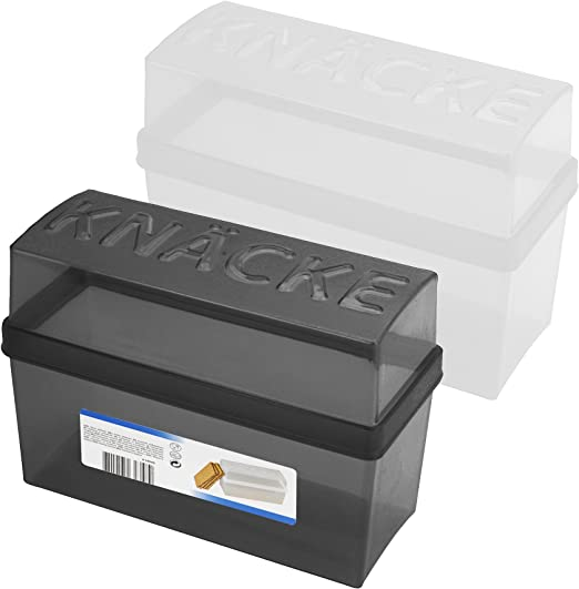 Koopman knäcke – Juego de 2 caja con tapa (para pan 1,65 L: Amazon ...