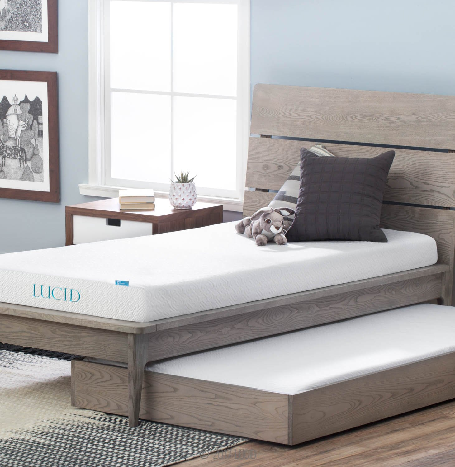 CertiPUR-US Certified Lucid mattress