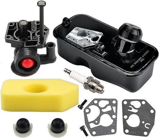 Amazon.com: hilom 795477 carburador con 698369 Filtro de ...