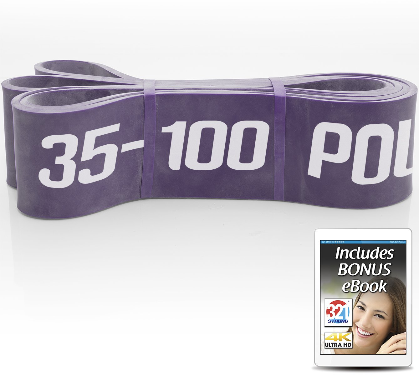 321 STRONG Exercise Resistance Bands - Level 6 by 321 STRONG (Image #1)
