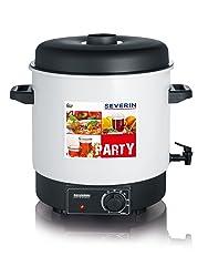 SEVERIN Stérilisateur et distributeur de boissons chaudes (1800 W, Capacité : 29 litres ou 14 pots à bord rond de 1L (100), avec robinet de sortie), EA 3653