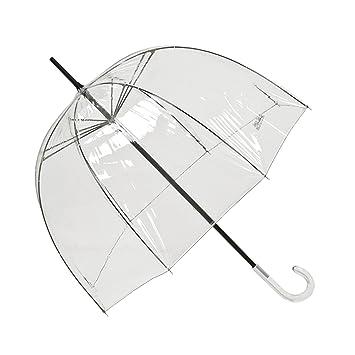 den Griff ziehen und der Schirm schließt sich