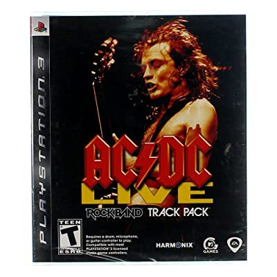 AC/DC Live: Rock Band Track Pack - Playstation 3: Video Games