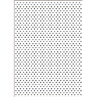 Darice 3605-001 - Carpetas de estampación, plantilla punto, 29,7 x