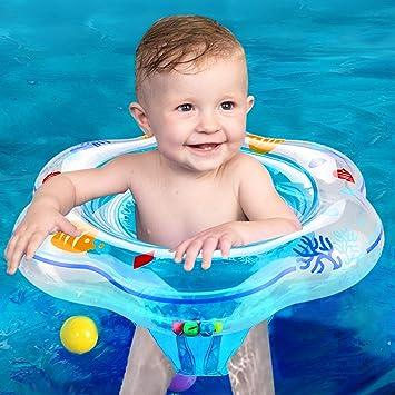 Anillo de Natación para Bebé, Bebes Swim Ring Flotador de Natación ...
