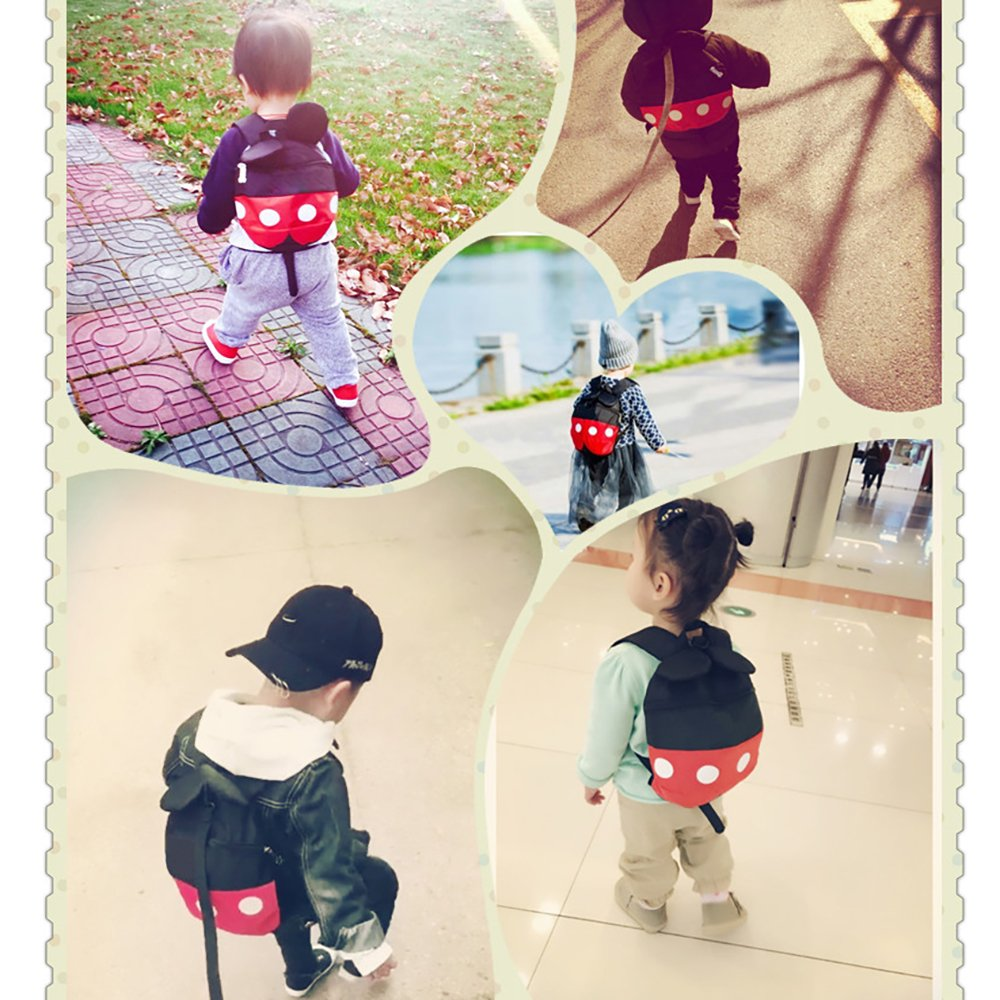 (Backpack) Baby Safety Walking Toddler Anti-Lost Belt Harness Backpack Toddler Anti-Lost Backpack Belt with Safety Leash Mini Strap for Boys and Girls QE00-2 by MPAYIXUNGS (Image #4)