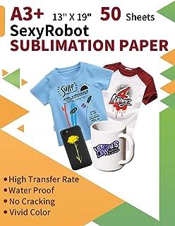 Amazon.com: cisinks® 50 hoja A3 tinta de sublimación prensa ...