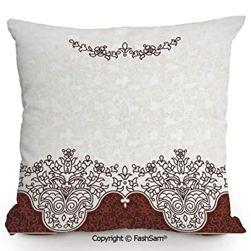 Fabulous Amazon Com Fashsam Home Super Soft Throw Pillow Ornate Old Gmtry Best Dining Table And Chair Ideas Images Gmtryco