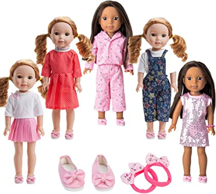 READING GLASSES FOR AMERICAN GIRL BITTY BABY BOY GIRL AND WELLIE WISHERS DOLLS