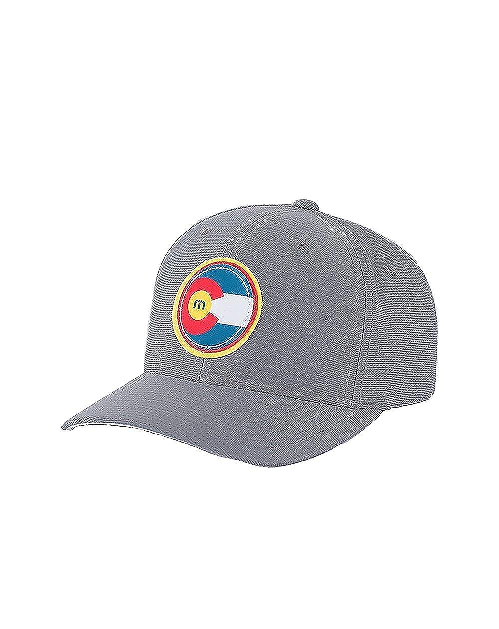 0934809869e Travis Mathew Colorado Flag Hat The Jo (Grey) Large X-Large at Amazon Men s  Clothing store