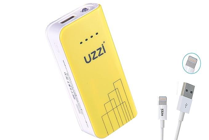 Amazon.com: uzzi Ultra Compacta 4400 mAh cargador portátil ...
