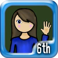 6th Grade Math Genius (for Kindle, Tablet & Phone)
