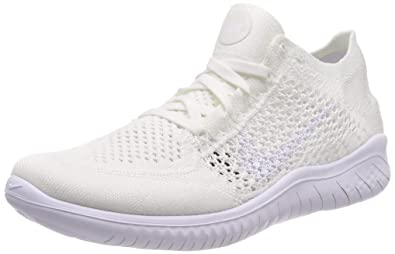 2c8da8a5b84b Image Unavailable. Image not available for. Color  Nike WMNS Free Rn Flyknit  2018 Womens 942839-103 Size 7.5
