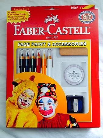 Amazon.com: Faber-Castell pintura de cara y accesorios ...
