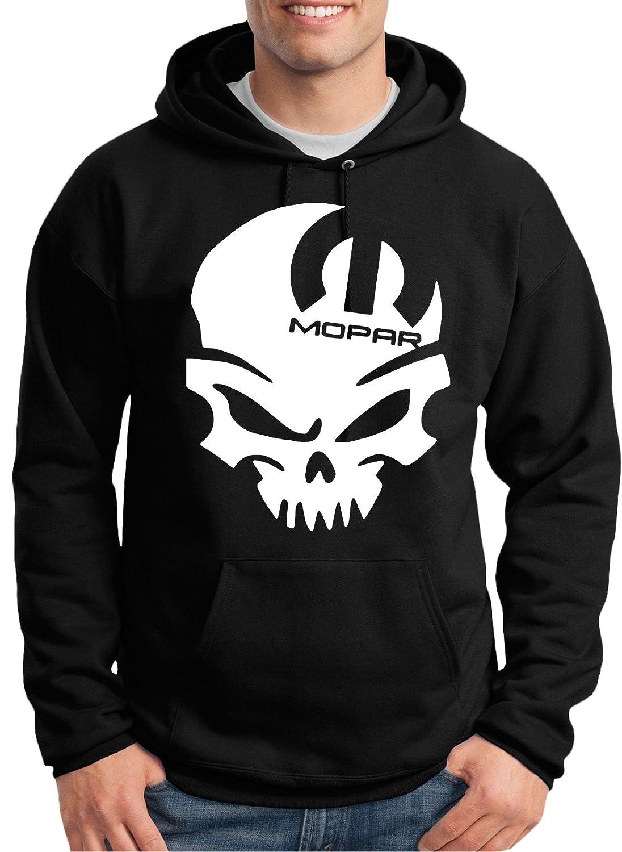 d00202afafb Mopar Skull Hoodie at Amazon Men s Clothing store