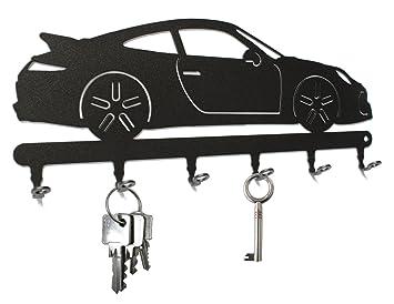 Tabla/Colgador de Llaves * Porsche 911 * - Llave Tarjeta Auto, Llave (Deportivo, Metal - 6 Ganchos Negro: Amazon.es: Hogar