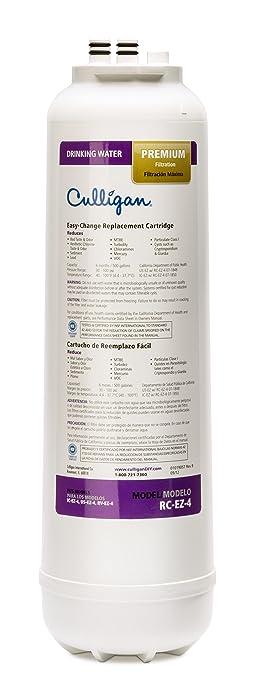 Culligan RC 4 EZ-Change Premium Water Filtration Replacement Cartridge, 500 Gallons, White