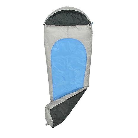 fridani mb175 K camping Saco de dormir de hasta 19 °C XL - Saco de dormir infantil 175 x 70 cm cabaña Saco de dormir con 1450 G, Outdoor momia saco de ...