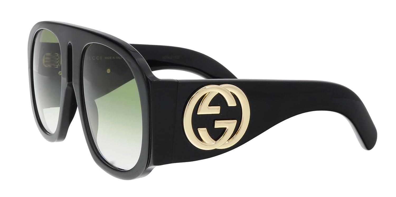 6bf345e75b 30% de descuento Gucci GG0152S 002, Gafas de Sol para Mujer, Negro ...