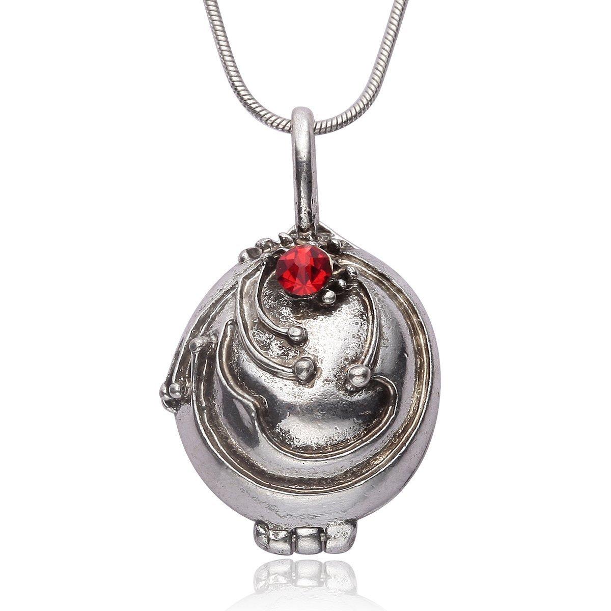 The Vampire Diaries Elena Gilbert Opening Vervain Locket Pendant Necklace