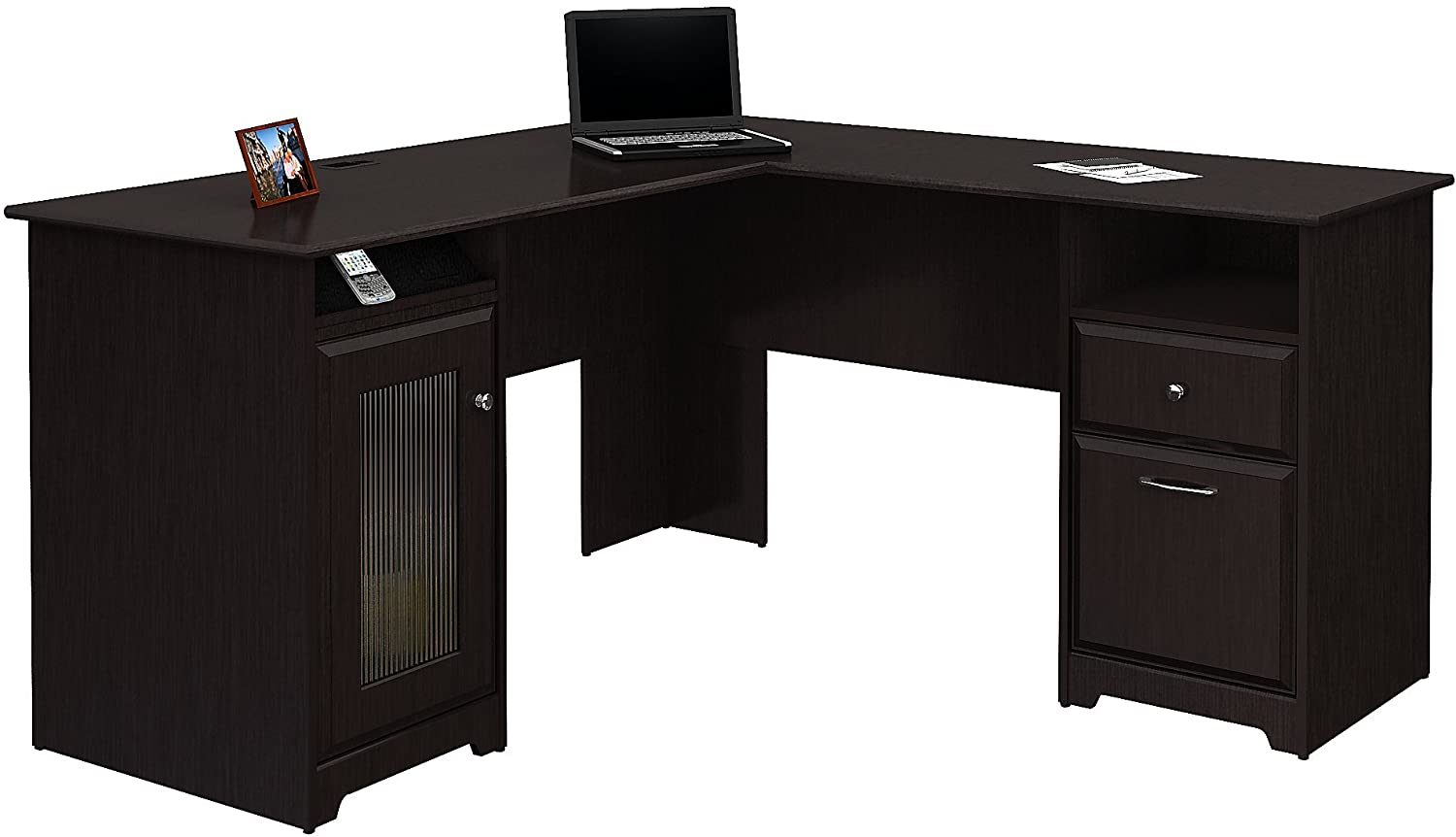 Bush Furniture Cabot L Shaped Computer Desk