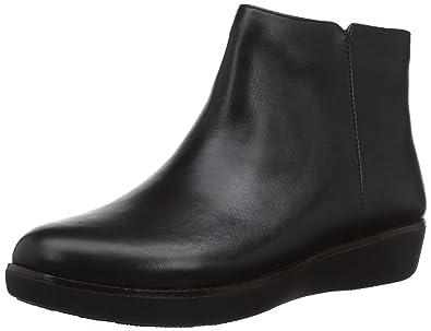 c72f5978ef600 FitFlop Women s Ziggy Zip Ankle Boot Black 5 ...
