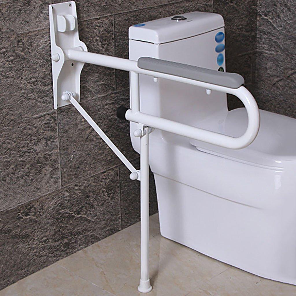 Nombre: barandilla Método de instalación: golpe Material: Acero inoxidable Tecnología de superficie: anodizado Lugares aplicables: bañeras, baños, aseos, etc. (色 : 2) B07DGMTFWV 2 2