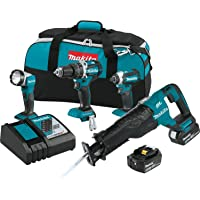 Makita XT447T 18V LXT Lithium-Ion Brushless Cordless Combo Kit