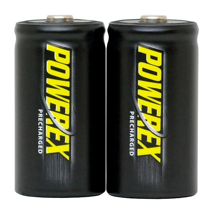 Amazon.com: Powerex MHRAAP4 baterías AA recargables ...