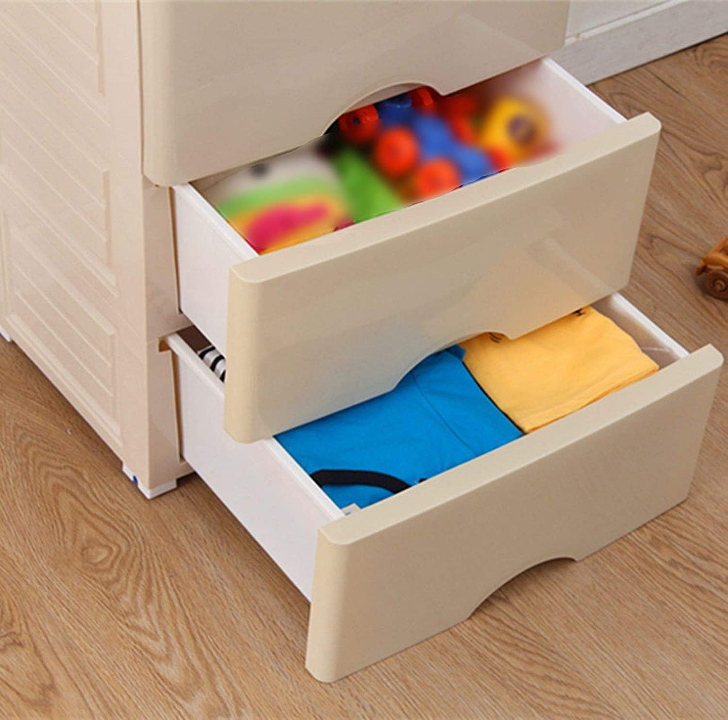 Amazon.com: Plastic Organizer Drawer 5 Layers Drawers for ...