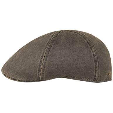 Stetson Mens Weathered Cotton Duck Ivy Cap (Brown, ...