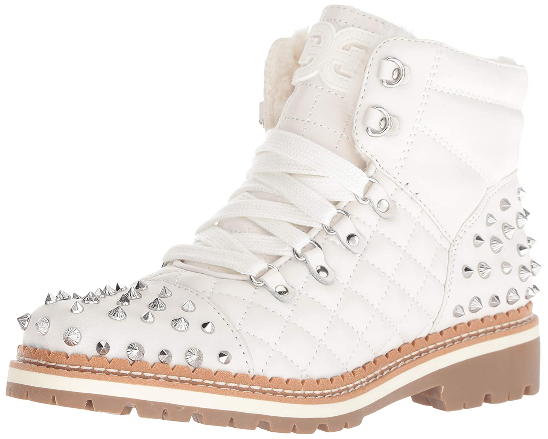 Bright White Sam Edelman Womens Bren Fashion Boot
