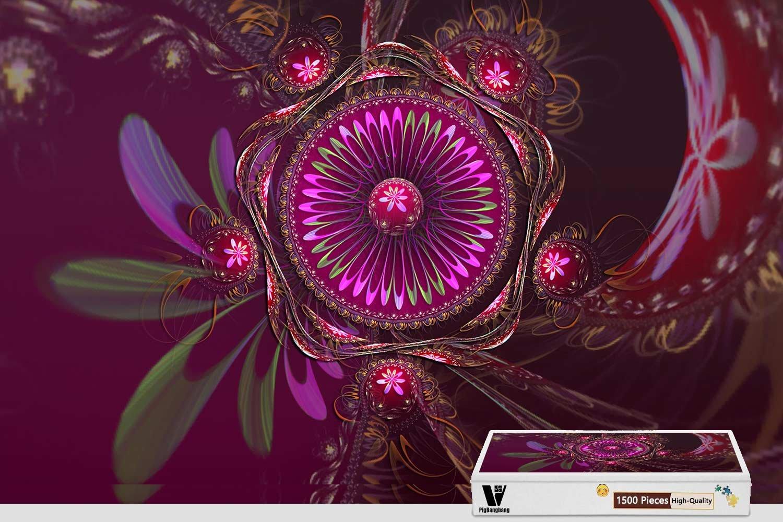 品揃え豊富で PigBangbang X 34.4 X 22.6インチ ジグソーパズル用難易度接着剤付きプレミアム木製 22.6インチ 抽象的な色パターン 1500ピースジグソーパズル 34.4 B07FRZMJP4, 銀座エアポート静岡:8ed98ccd --- a0267596.xsph.ru