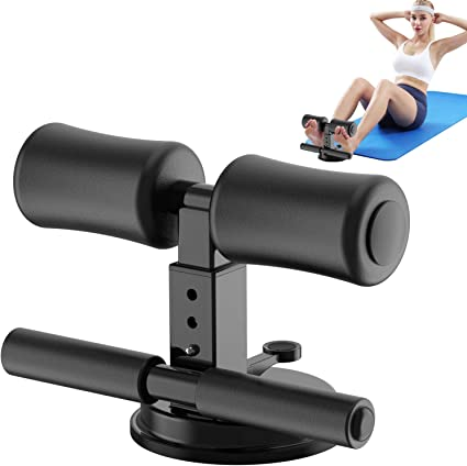 Adjustable Sit Up Assistant Suction-Cup Sit-Up Trainer Fitness Workout Bar Toner