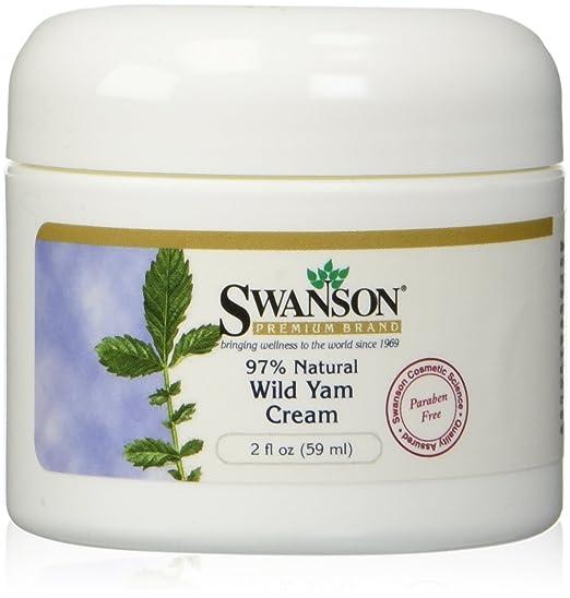 Wild Yam Cream 2 fl oz (59 ml) Cream