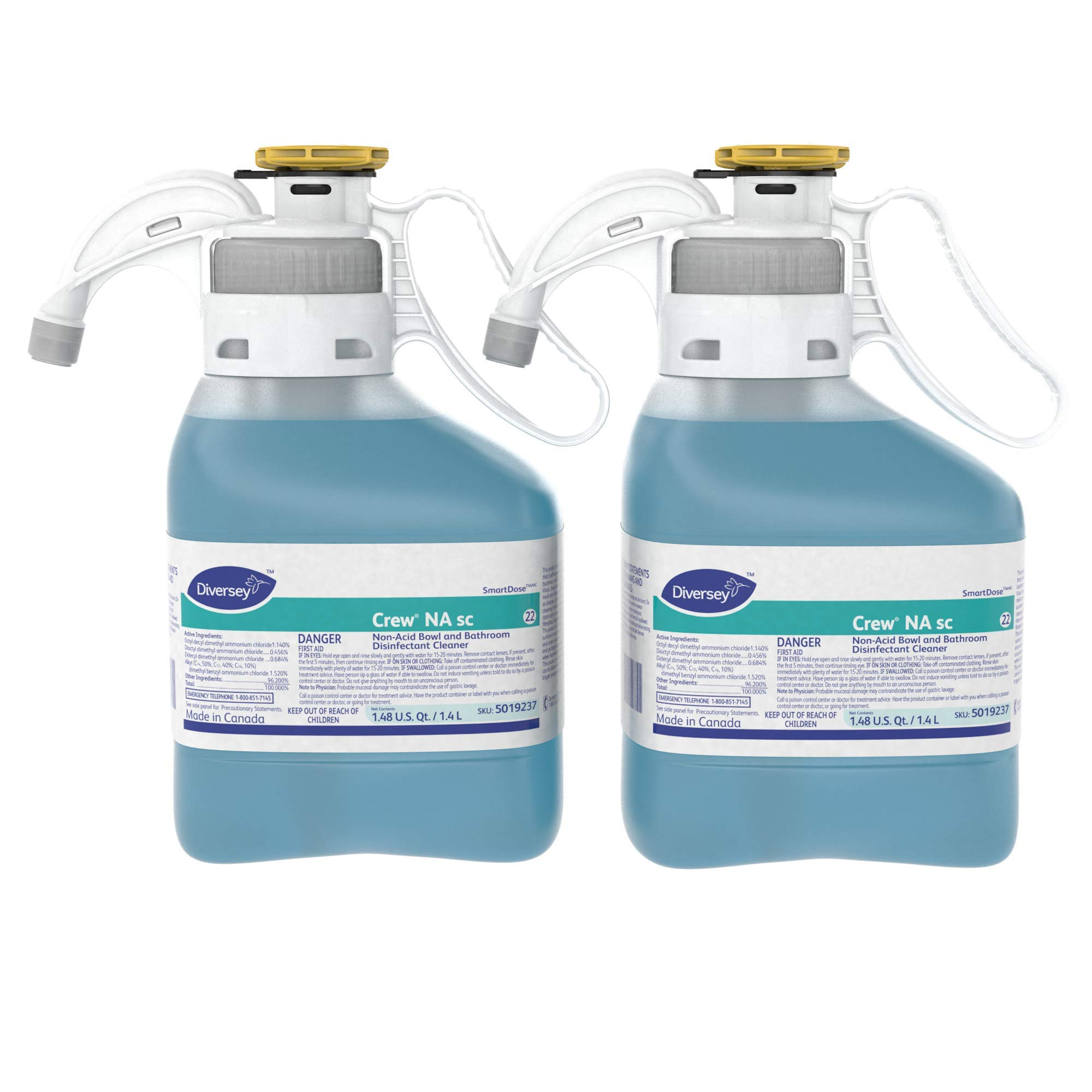 Diversey Crew Non-Acid Bowl and Bathroom Disinfectant Cleaner by Diversey