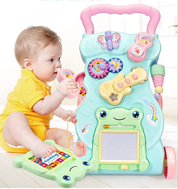 Magicwand Sit to Stand Baby Learning Musical Anti-Skid Walker with Weight Adjusting Mechanism