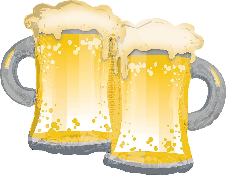 Amscan 3725501 – Globo – Jarras de Cerveza: Amazon.es: Juguetes y ...