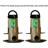 Nature Forever Bird Feeder, Transparent (2 Pieces)
