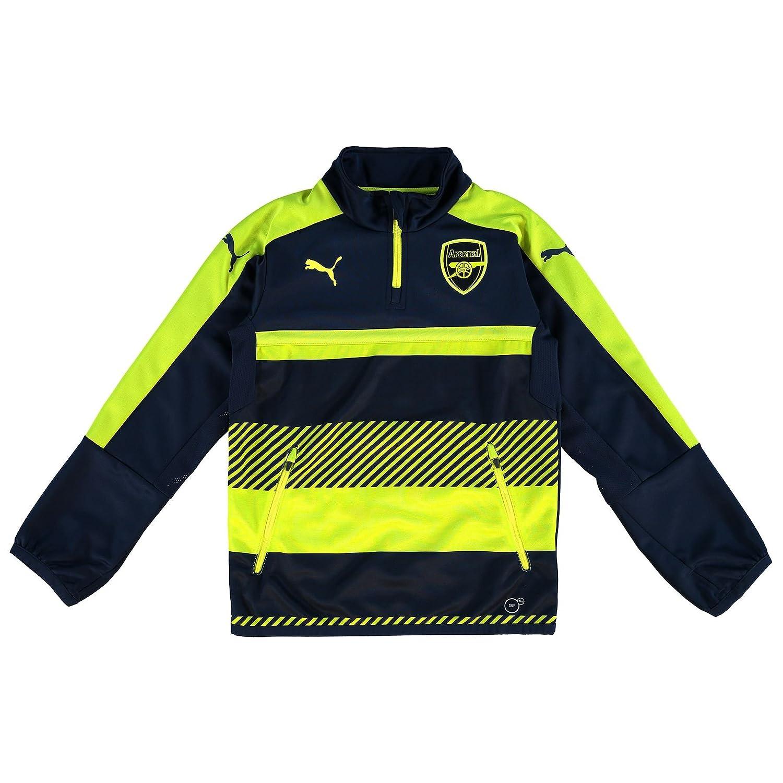the best attitude df004 47590 Puma AFC 1/4 Training Top Junior: Amazon.co.uk: Clothing