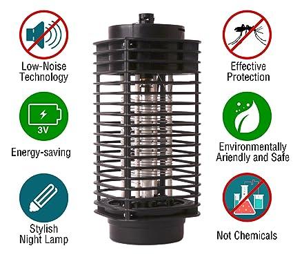 Amazon Com Mosquito Zapper Killer Light Indoor Outdoor Bug