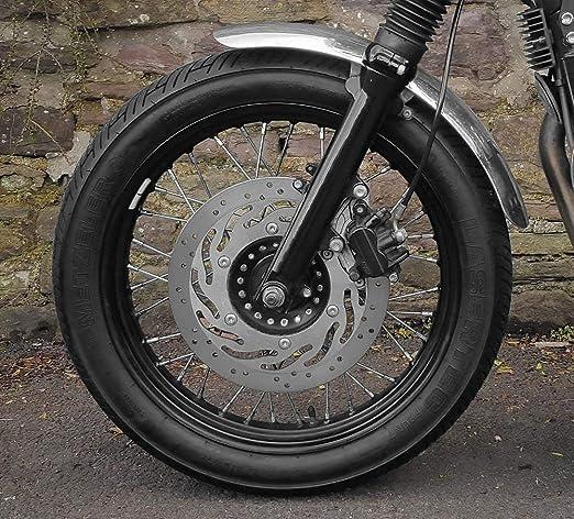 Amazoncom Motone Polished Aluminum Front Fender Standard Length