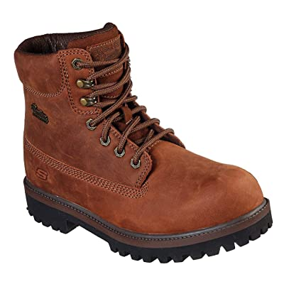 Skechers Relaxed Fit: Verdict - Boralo Mens Waterproof Boot | Boots