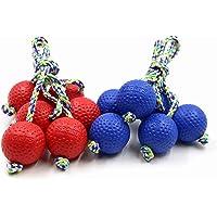 Festival Depot Ladder Balls, 6 Bolas Replacement Set for Outdoor Ladder Golf Toss Game