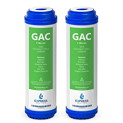 granular activated carbon water filter system
