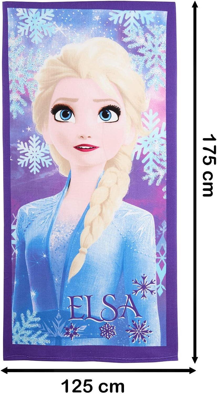 Elsa Anna piscina motivo Telo mare per bambini Disney Frozen 2