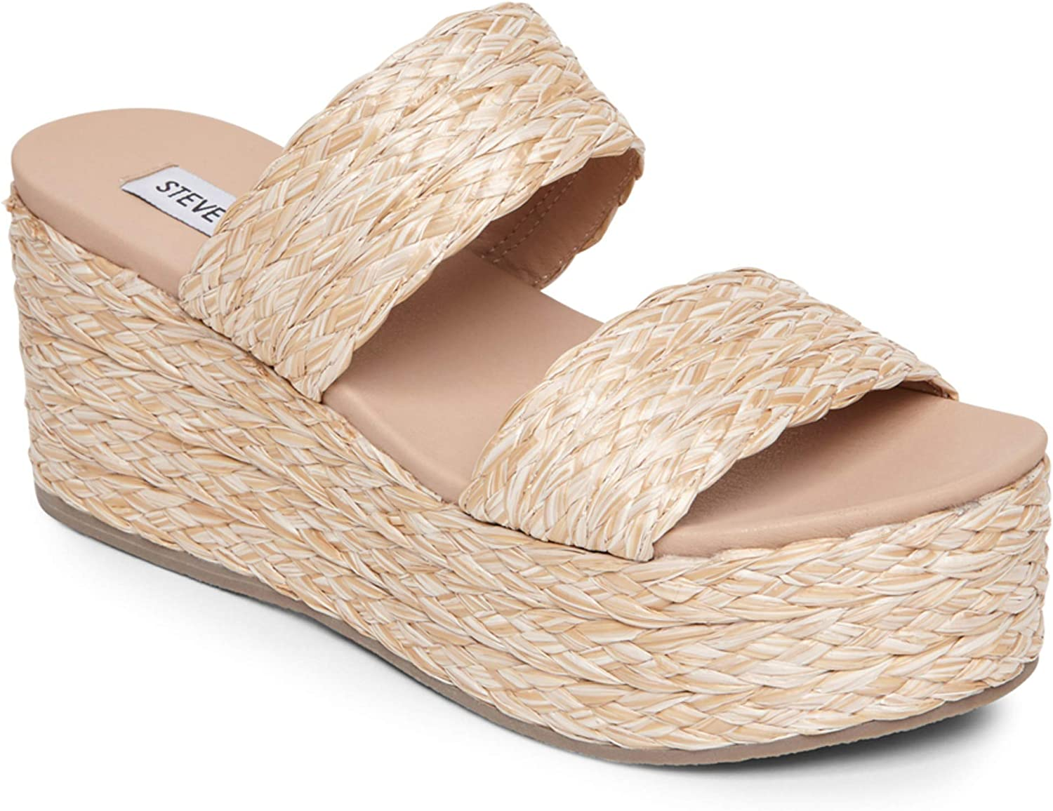 Jolted Wedge Sandal