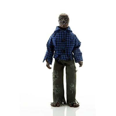 "Mego Action Figures, 8"" The Wolfman, B&W (Limited Edition Collector'S Item): Toys & Games"